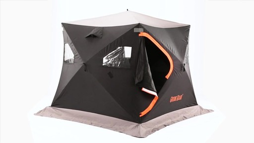 Guide Gear 6' x 6' Insulated Ice Fishing Shelter 360 View - image 1 from the video