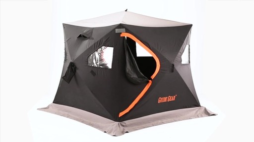 Guide Gear 6' x 6' Insulated Ice Fishing Shelter 360 View - image 6 from the video