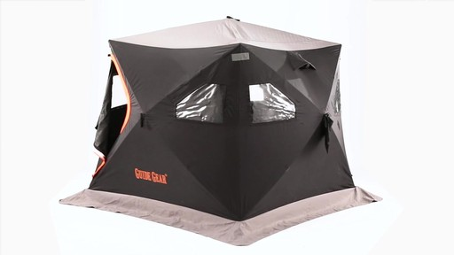 Guide Gear 6' x 6' Insulated Ice Fishing Shelter 360 View - image 9 from the video