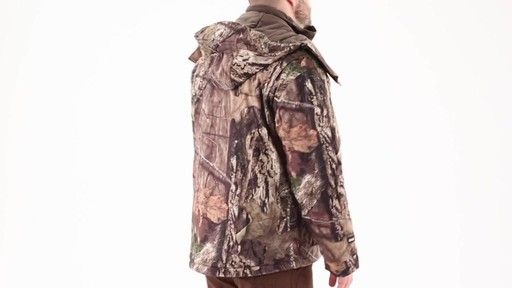 Guide Gear Men's Guide Dry Hunt Parka 360 View - image 3 from the video