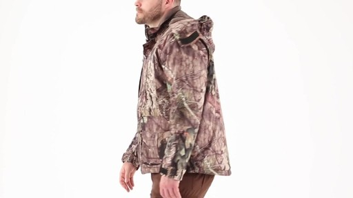 Guide Gear Men's Guide Dry Hunt Parka 360 View - image 8 from the video