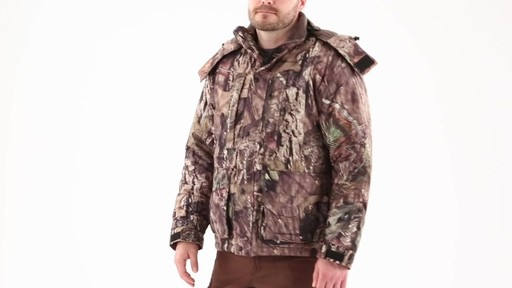 Guide Gear Men's Guide Dry Hunt Parka 360 View - image 9 from the video