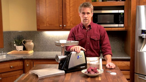 Guide Gear Electric Meat Grinder 575 Watt - image 7 from the video