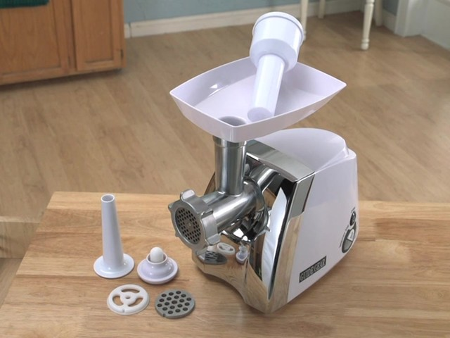 Guide Gear® 650W Electric Meat Grinder - image 6 from the video