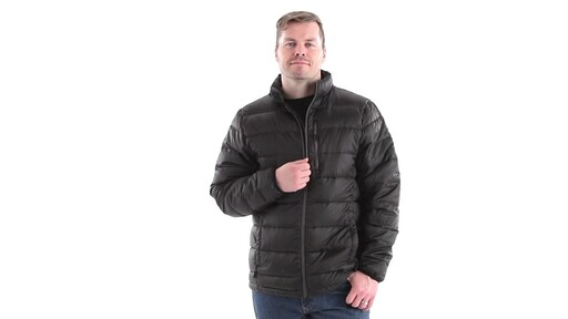 Guide Gear Men's Down Jacket 360 View - image 6 from the video