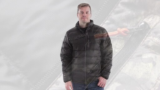Guide Gear Men's Down Jacket 360 View - image 7 from the video