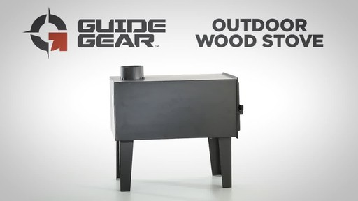 Guide Gear Outdoor Wood Stove - image 1 from the video