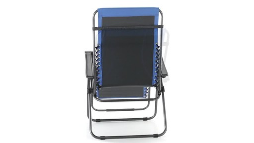 Guide Gear Oversized 500 lb. Zero Gravity Chair Blue 360 View - image 6 from the video