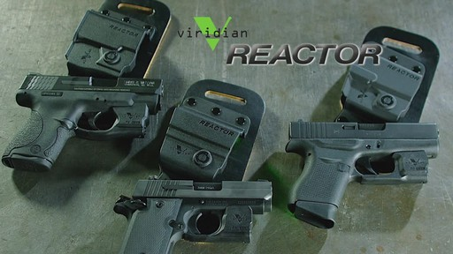 Viridian Reactor R5 Green Laser Sight Ruger LCP - image 10 from the video