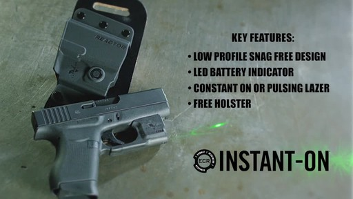 Viridian Reactor R5 Green Laser Sight Ruger LCP - image 7 from the video