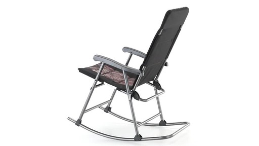 Guide Gear Oversized Rocking Camp Chair 500 lb. Capacity Mossy Oak Break Up Country 360 View - image 1 from the video