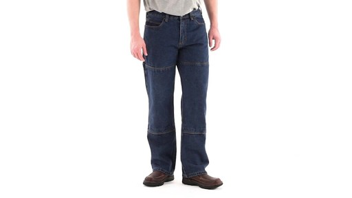 Guide Gear Men's Utility Jeans 360 View - image 1 from the video
