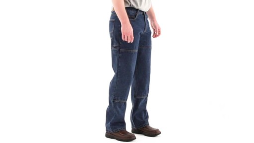 Guide Gear Men's Utility Jeans 360 View - image 2 from the video