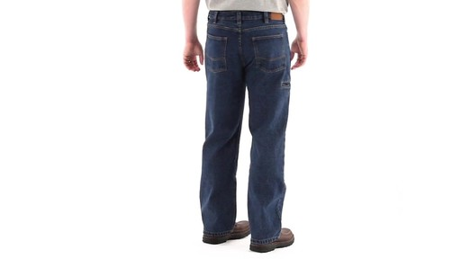 Guide Gear Men's Utility Jeans 360 View - image 4 from the video