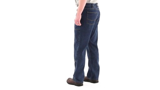 Guide Gear Men's Utility Jeans 360 View - image 6 from the video