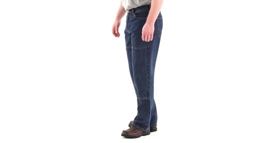 Guide Gear Men's Utility Jeans 360 View - image 7 from the video