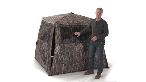 Guide Gear Camo Flare Out 5-Hub Ground Blind - image 1 from the video