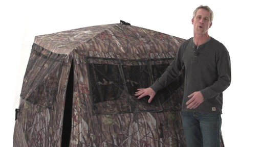 Guide Gear Camo Flare Out 5-Hub Ground Blind - image 4 from the video