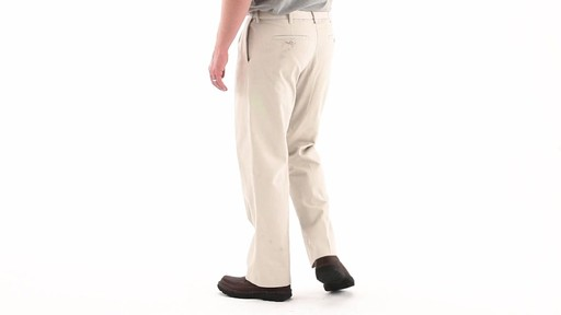 Guide Gear Men's Pleated Pants 360 VIew - image 5 from the video