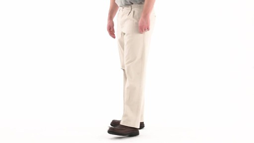 Guide Gear Men's Pleated Pants 360 VIew - image 6 from the video