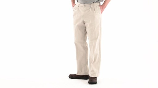 Guide Gear Men's Pleated Pants 360 VIew - image 7 from the video