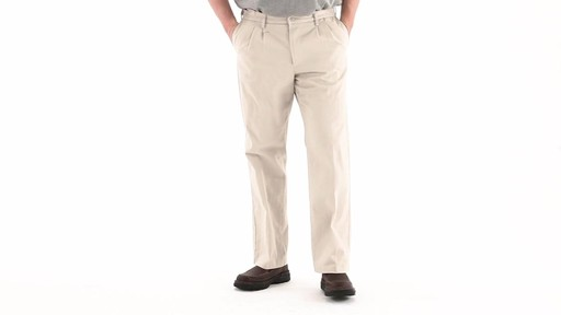 Guide Gear Men's Pleated Pants 360 VIew - image 8 from the video