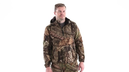 Guide Gear Men's Whist Pullover Hunting Jacket with W3 Fleece 360 View - image 1 from the video