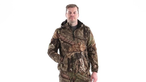 Guide Gear Men's Whist Pullover Hunting Jacket with W3 Fleece 360 View - image 10 from the video