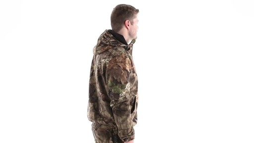 Guide Gear Men's Whist Pullover Hunting Jacket with W3 Fleece 360 View - image 3 from the video