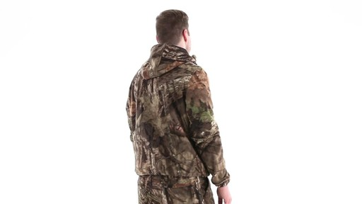 Guide Gear Men's Whist Pullover Hunting Jacket with W3 Fleece 360 View - image 4 from the video