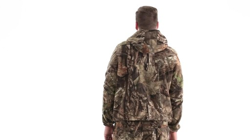 Guide Gear Men's Whist Pullover Hunting Jacket with W3 Fleece 360 View - image 5 from the video