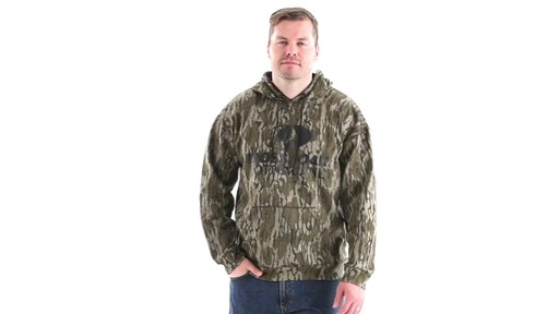 Guide Gear Men's Mossy Oak Bottomland Camo Hoodie 360 View - image 10 from the video