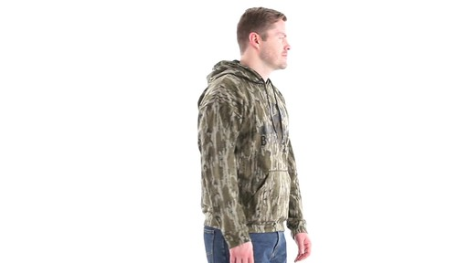 Guide Gear Men's Mossy Oak Bottomland Camo Hoodie 360 View - image 3 from the video