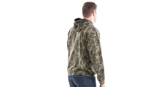 Guide Gear Men's Mossy Oak Bottomland Camo Hoodie 360 View - image 4 from the video