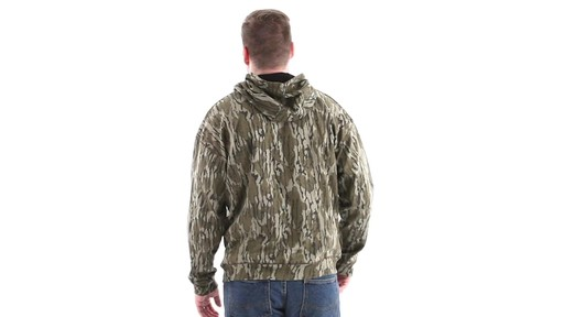 Guide Gear Men's Mossy Oak Bottomland Camo Hoodie 360 View - image 6 from the video