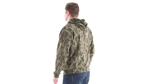 Guide Gear Men's Mossy Oak Bottomland Camo Hoodie 360 View - image 7 from the video