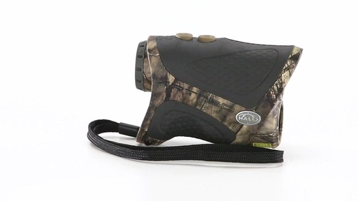 Halo XRT 750 Yard Laser Rangefinder Mossy Oak Break-Up Country Camo 360 View - image 10 from the video