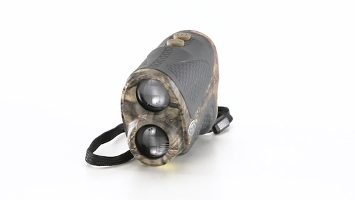 Halo XRT 750 Yard Laser Rangefinder Mossy Oak Break-Up Country Camo 360 View - image 2 from the video