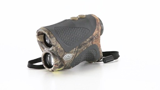 Halo XRT 750 Yard Laser Rangefinder Mossy Oak Break-Up Country Camo 360 View - image 3 from the video