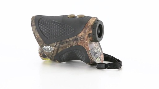Halo XRT 750 Yard Laser Rangefinder Mossy Oak Break-Up Country Camo 360 View - image 5 from the video