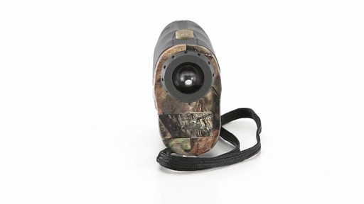 Halo XRT 750 Yard Laser Rangefinder Mossy Oak Break-Up Country Camo 360 View - image 7 from the video