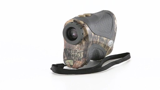 Halo XRT 750 Yard Laser Rangefinder Mossy Oak Break-Up Country Camo 360 View - image 8 from the video