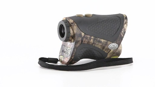 Halo XRT 750 Yard Laser Rangefinder Mossy Oak Break-Up Country Camo 360 View - image 9 from the video