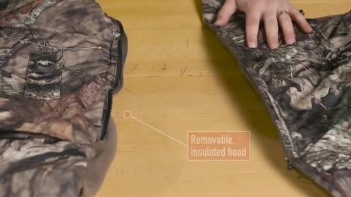 Guide Gear Guide Dry Men's Camo Coveralls Waterproof Insulated Breathable - image 5 from the video