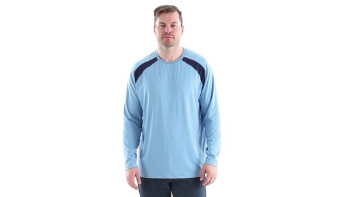 Guide Gear Men's Performance Fishing Long Sleeve T-Shirt 360 View - image 1 from the video