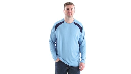 Guide Gear Men's Performance Fishing Long Sleeve T-Shirt 360 View - image 10 from the video