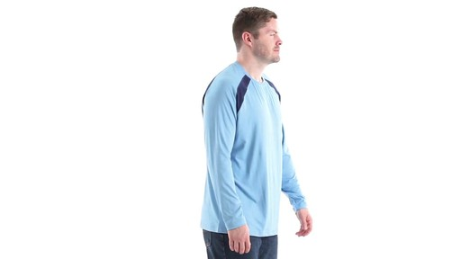 Guide Gear Men's Performance Fishing Long Sleeve T-Shirt 360 View - image 3 from the video