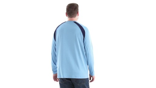 Guide Gear Men's Performance Fishing Long Sleeve T-Shirt 360 View - image 5 from the video