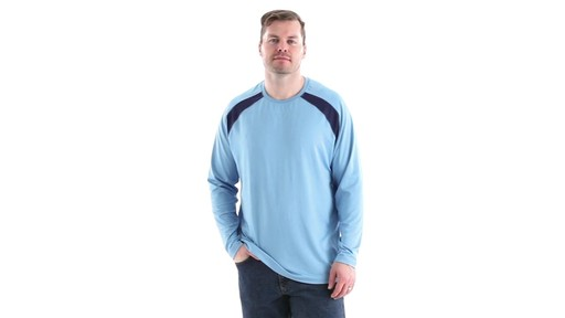 Guide Gear Men's Performance Fishing Long Sleeve T-Shirt 360 View - image 9 from the video