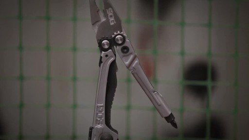 SOG Reactor Multi Tool - image 7 from the video